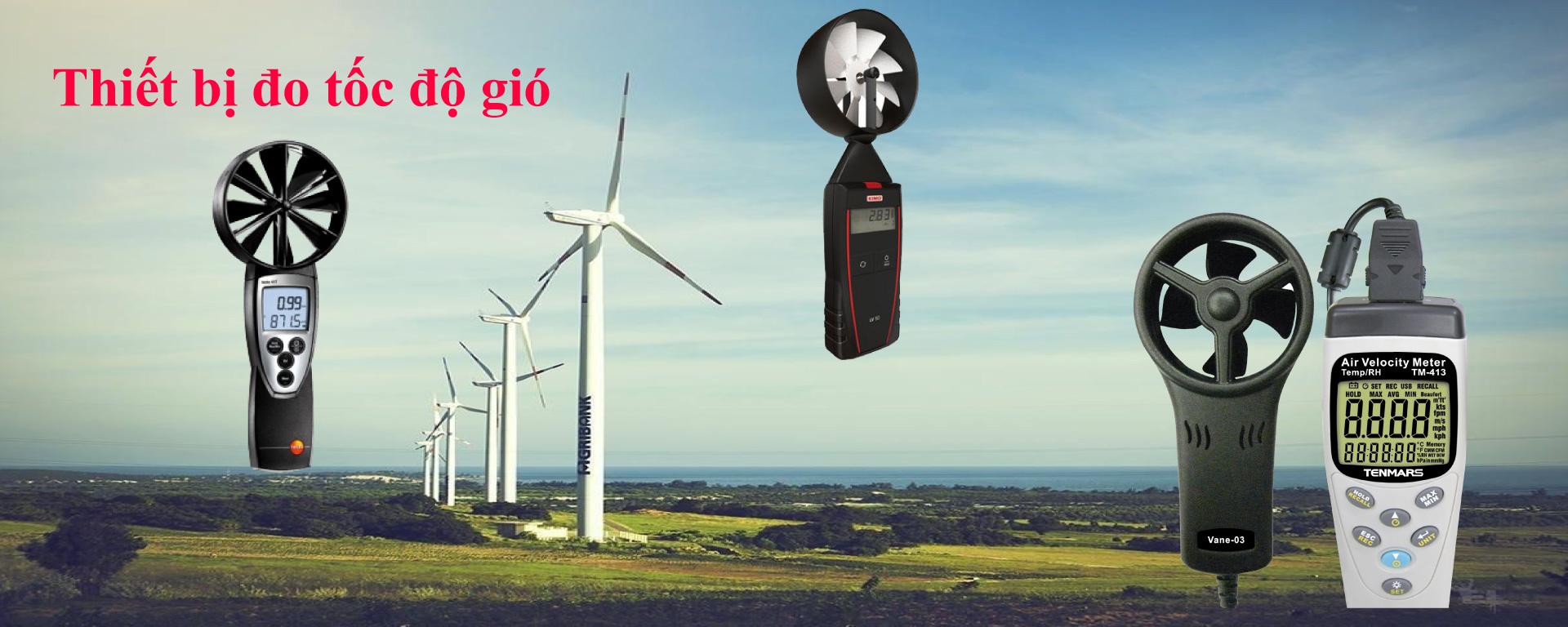 Thiết bị đo tốc độ gió