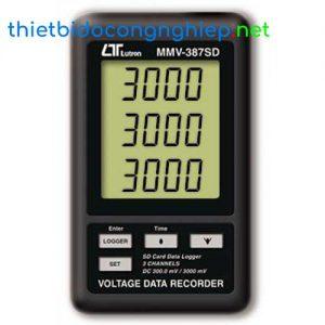 Thiết bị điện trở mẫu Lutron MMV-387SD (Ghi áp)