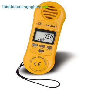 Thiết bị đo nhiệt độ, độ ẩm môi trường LUTRON LM-81HT