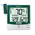 Thiết bị cảnh báo nhiệt độ và độ ẩm Extech 445815