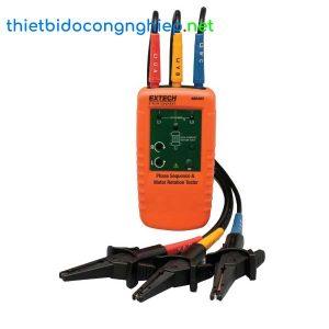 Máy kiểm tra thứ tự pha và vòng quay động cơ Extech 480403