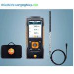 Kit testo 440 đo vận tốc gió trong ống gió (đầu dò sợi nhiệt)