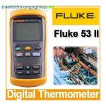 Đồng hồ đo nhiệt độ FLuke 53 II