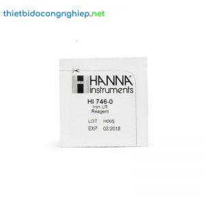 Thuốc thử cho checker Sắt thang thấp Hanna HI746-25 (25 gói)