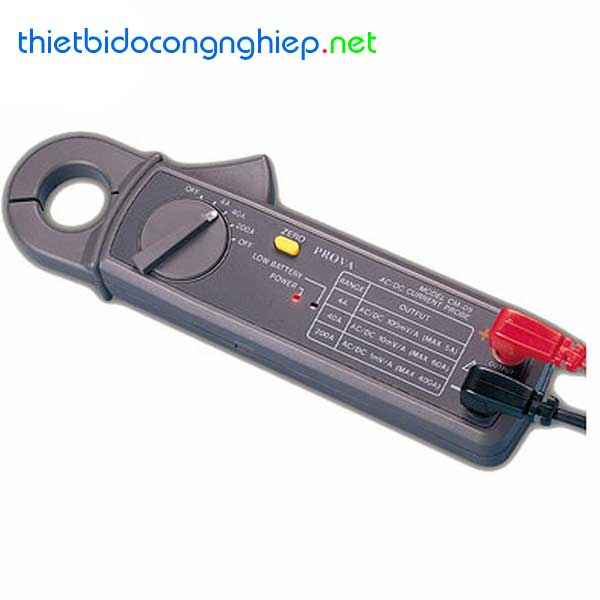 Ampe kìm DC/AC TES CM-05 (10mADC, 1mAAC)
