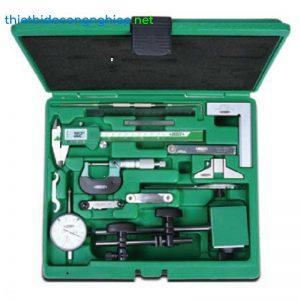 Bộ dụng cụ đo cơ khí Insize 5013 (13 chi tiết)
