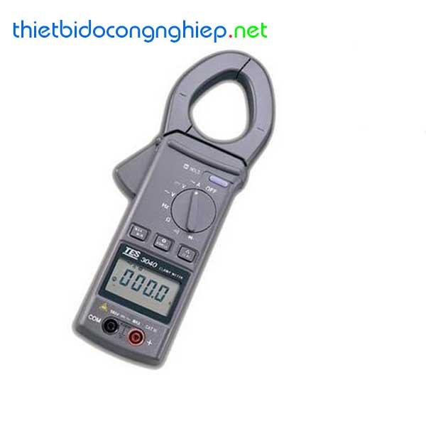 Đồng hồ kẹp AC kỹ thuật số TES-3040H