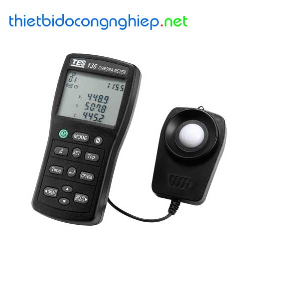 Máy đo ánh sáng TES-136 (0.1 to 99990 Lux)