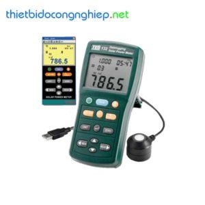 Máy đo năng lượng mặt trời ghi dữ liệu Tes 132 (2000 W/m2)
