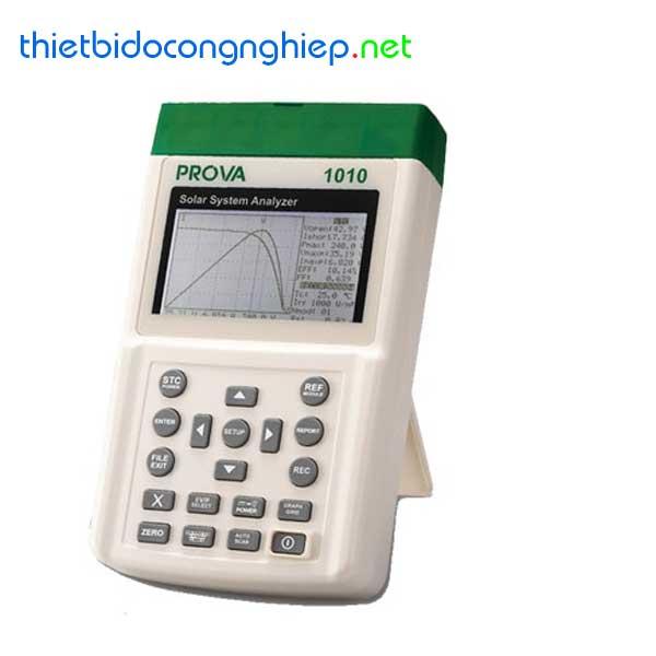Máy phân tích hệ thống PV Tes Prova 1011