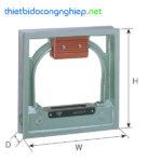 Nivo khung cân bằng máy RSK 541-1502 (0-150mm/0.02mm/m)