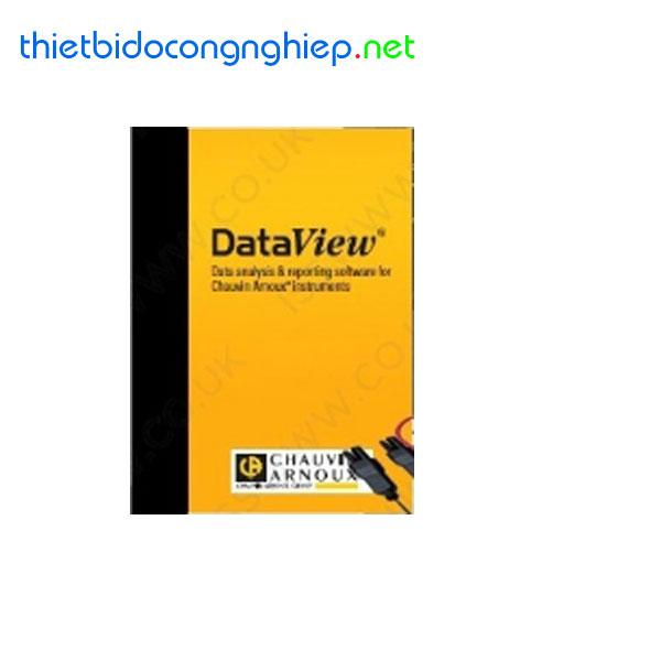 Phần mềm DataView Chauvin Arnoux P01102095 cho máy phân tích công suất và ampe kìm