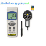 Thiết bị đo tốc độ gió, lưu lượng gió, độ ẩm, nhiệt độ môi trường Lutron AM-4237SD