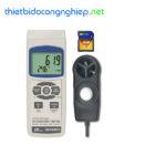 Thiết bị đo tốc độ gió, ánh sáng, nhiệt độ, độ ẩm môi trường (4 in 1) Lutron EM-9300SD