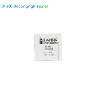 Thuốc thử cho checker Crôm thang thấp Hanna HI749-25 (25 gói)