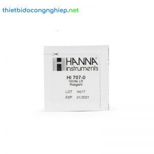 Thuốc thử Nitrit thang thấp Hanna HI707-25 (25 gói)