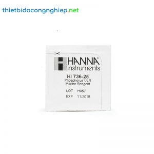 Thuốc thử phốt pho LR cho checker Hanna HI736-25 (25 lần)