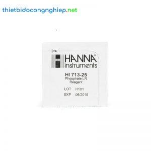 Thuốc thử Photphat thang thấp Hanna HI713-25 (25 gói)